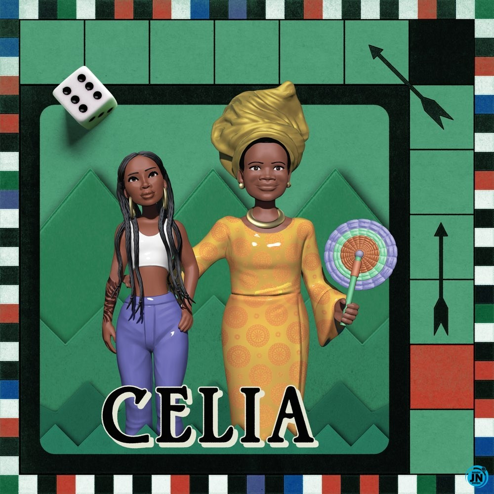 Tiwa Savage Celia Album artwork