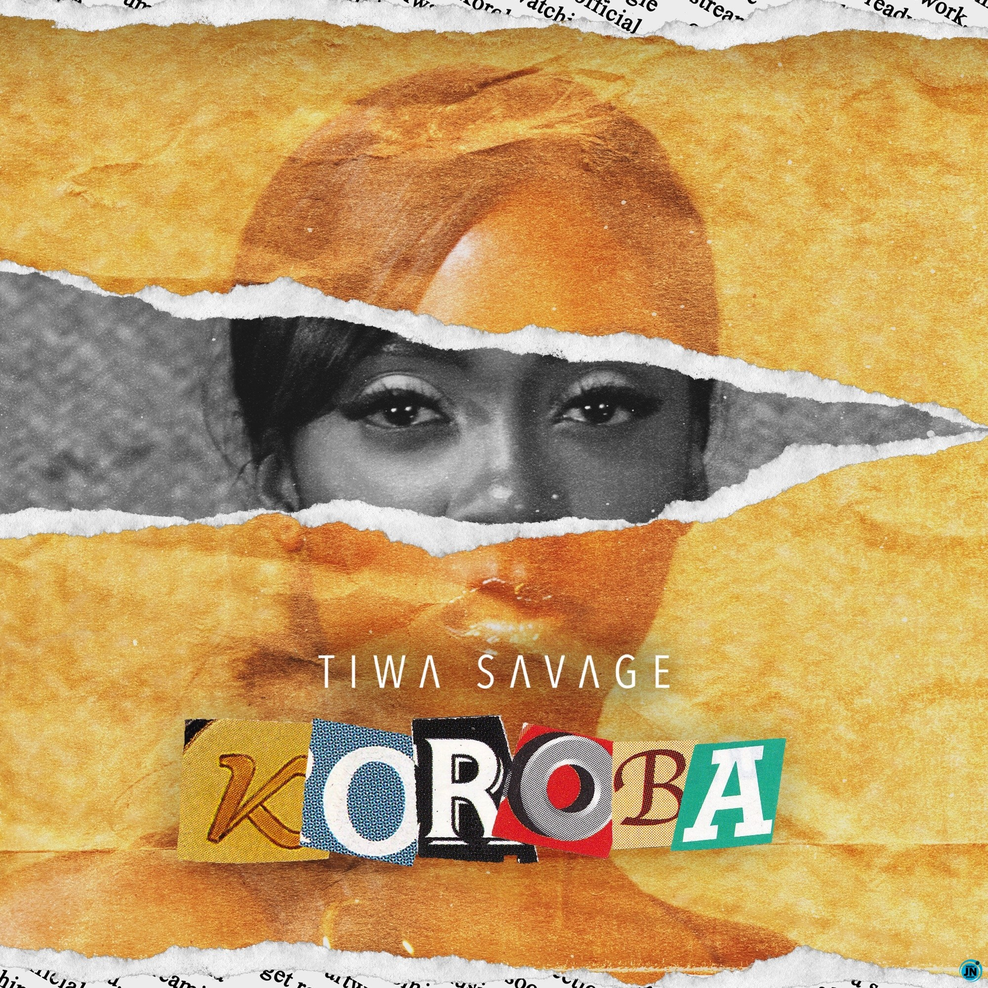 Tiwa Savage Koroba artwork